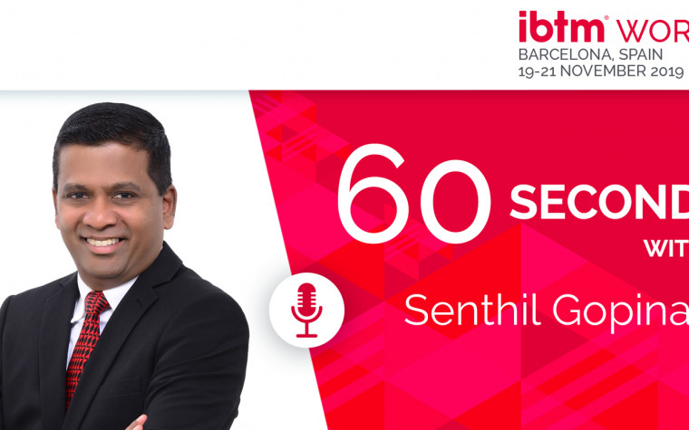 60 seconds with…. Senthil Gopinath