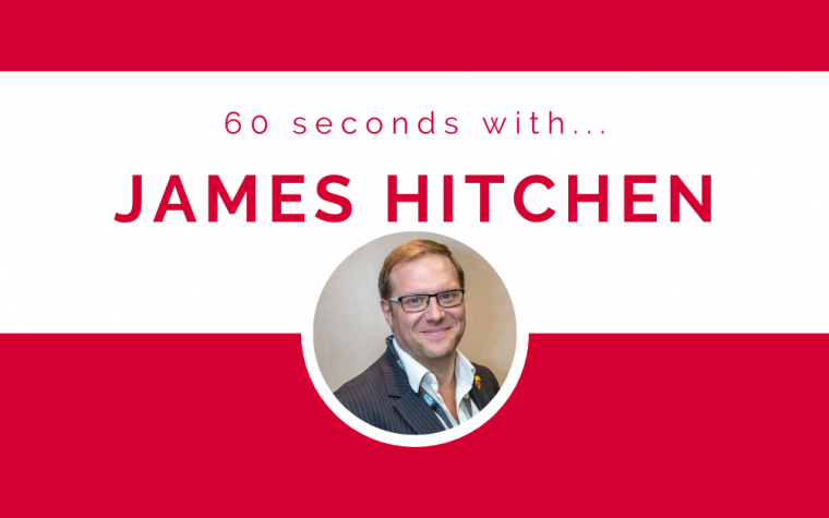 60 seconds with… James Hitchen