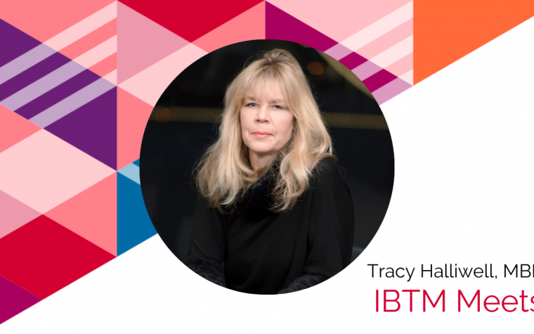 LONDON CALLING | IBTM Meets: Tracy Halliwell, MBE