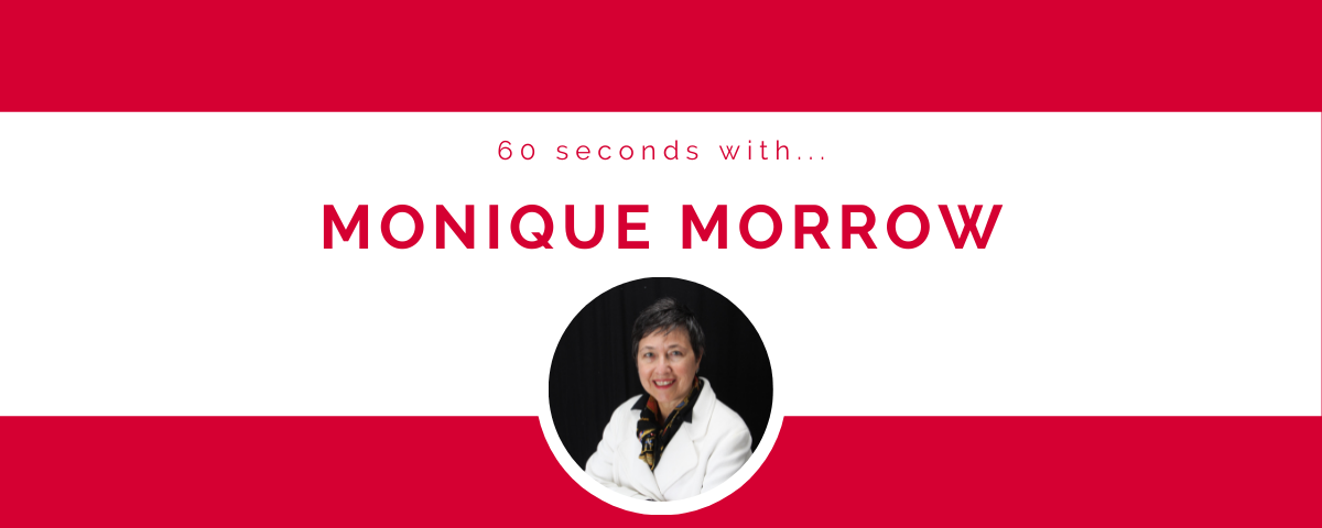60 seconds with… Monique Morrow